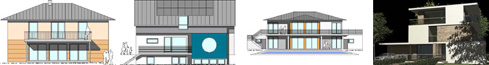 Architektenhaus 13 x Villas und Häuser