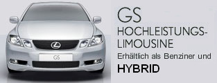 Hybrid Auto GS von LEXUS