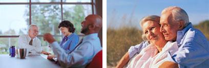 Senioren 50+ die als Unternehmer mit neuen Visionen, Ziele und Träume nochmals richtig durchstarten.