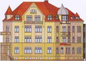 Eine aktuelle Top Immobilie Villa freistehend 8 Wohnungen